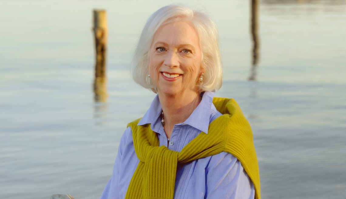 a photo of martha boudreau a a r p chief communications and marketing officer