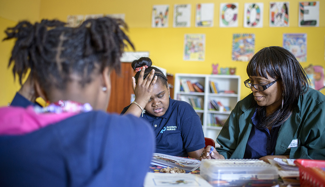 AARP Experience Corps: Blue Hill Boys and Girls Club
