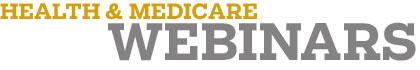 Webinars - Health & Medicare banner