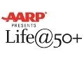 AARP Presents Life@50+ logo