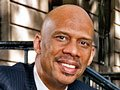 Hall of Fame basketball player Kareem Abdul-Jabbar