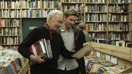 Christopher Plummer and Ewan McGregor in Beginners