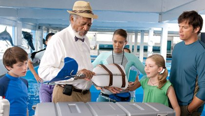 Dolphin Tale scene-AARP Movies for Grownups Film Festival, Los Angeles 2011