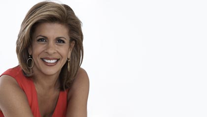 Hoda Kotb, award-winning broadcast journalist