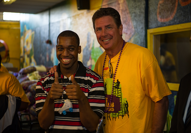 Dan Marino, AARP Life@50+ Volunteer Day