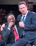 James Brown and Dan Marino at Life Reimagined