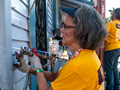 repairing house, AARP Life@50+ Volunteer Day