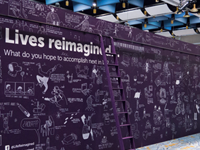 Lives Reimagined Wall