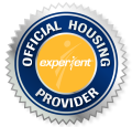 Experient Official Housing Provider Seal - AARP