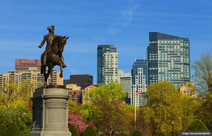 Estatua de George Washington a caballo, Jardín Público de Boston - Sitios para conocer