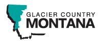 Glacier Country MT Logo
