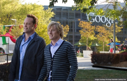 Vince Vaughn, Owen Wilson in The Internship, AARP Movies for Grownups, Life@50 Las Vegas