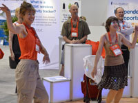2013 Life@50+ Las Vegas attendees engage with exhibitors