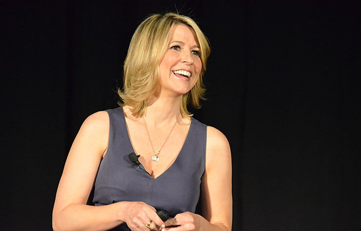 Samantha Brown appearing at the Spring 2013 Life@50+ event in Las Vegas