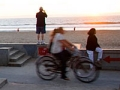 Paseo en bicicleta, San Diego beach