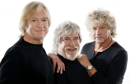 The Moody Blues performing at Life@50+ in Boston.