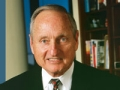 Vince Dooley speaking at the Life@50+ National Event & Expo in Atlanta. (Photo courtesy of Vince Dooley)