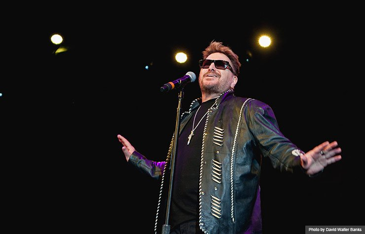 Chuck Negron performing as part of the Happy Together Tour dance party during the Life@50+ National Event & Expo in Atlanta. (Photo by David Walter Banks)