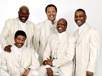 The Spinners performing at the Life@50+ National Event & Expo in Boston. (Photo courtesy of The Spinners)