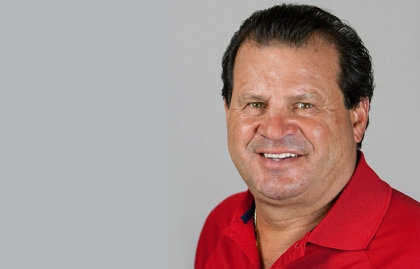 Mike Eruzione appearing at the Life@50+ National Event & Expo in Boston.
