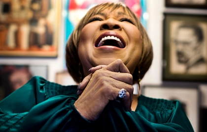 Mavis Staples performing at the Ideas@50+ National Event & Expo in San Diego.