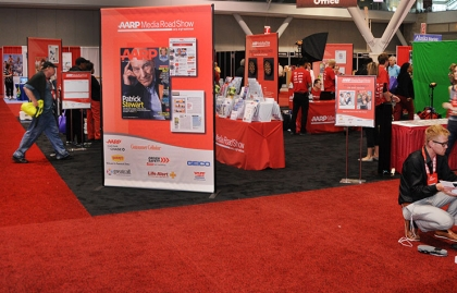 Attendees experienced all that AARP Media has to offer during Life@50+ Boston.