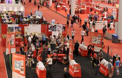 The AARP Media Road Show was part of the exhibit floor at Life@50+ Boston.