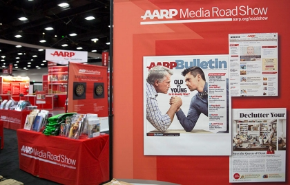 The AARP Media Road Show was part of the Ideas@50+ National Event & Expo in San Diego.