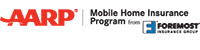 AARP Mobile Home Insurance Program by Foremost logo