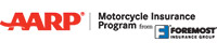 AARP Motorcycle Insurance Program by Foremost logo