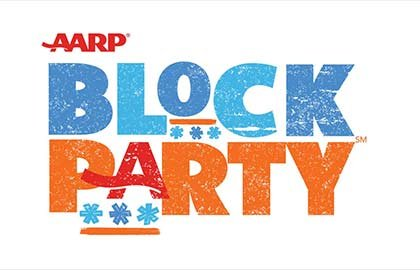 Evento Block Party de AARP