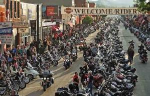 Festival de motocicletas en Sturgis