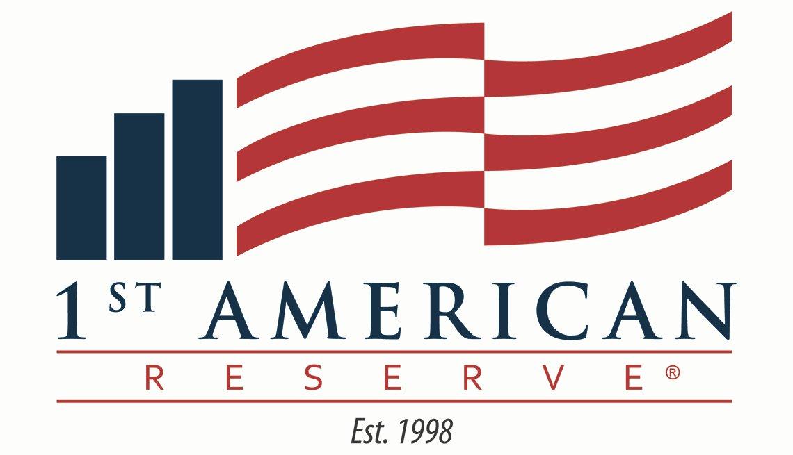 1st American Reserve. Established 1998 logo