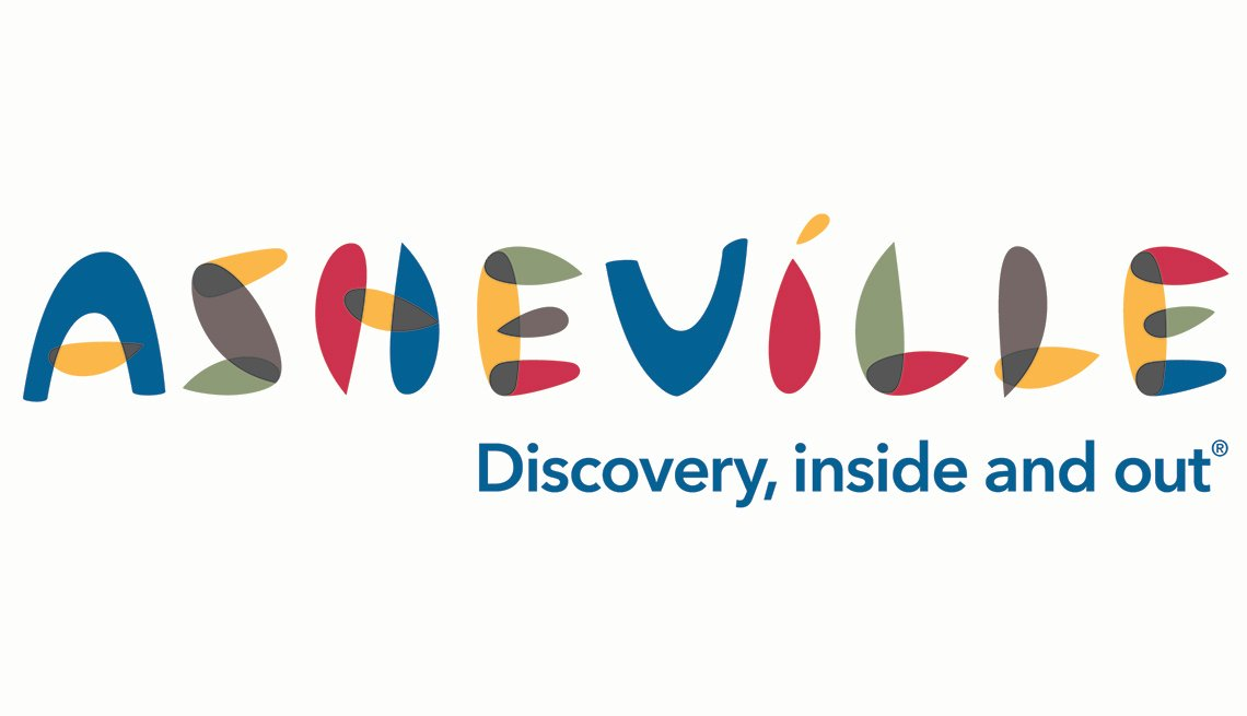 Logo: Ashville. Discovery, inside and out