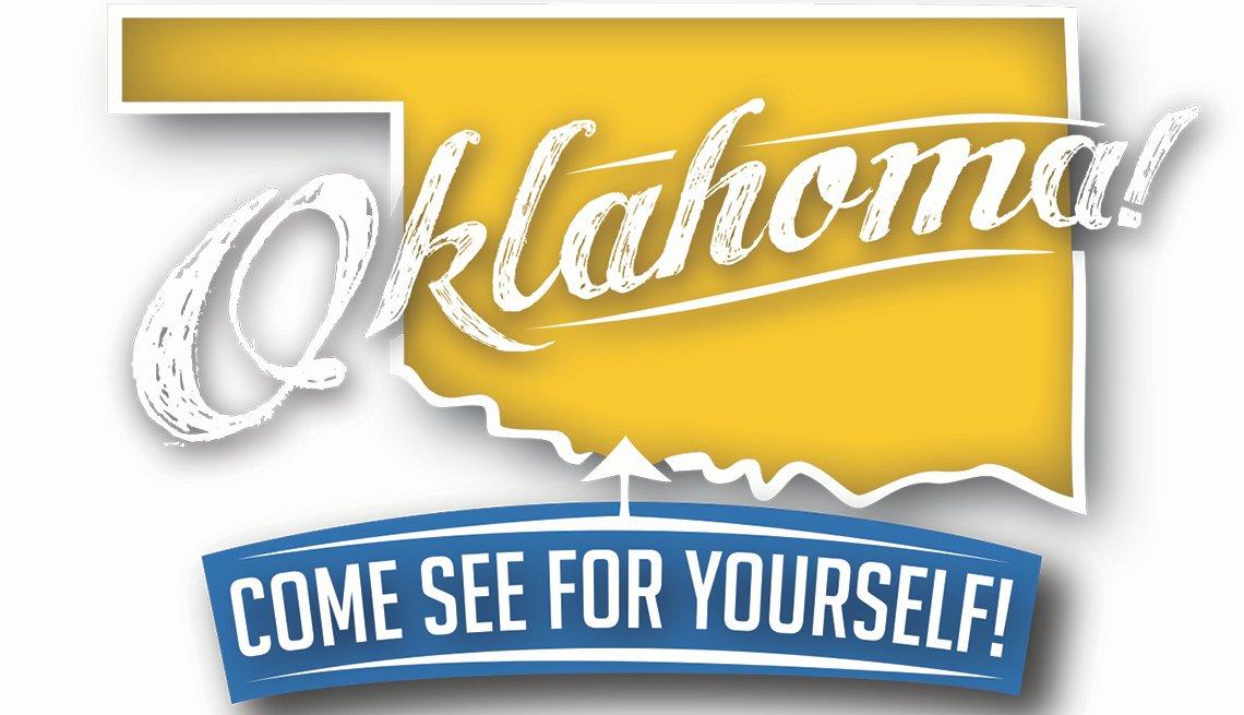 Logo: Oklahoma. Come see for yourself!