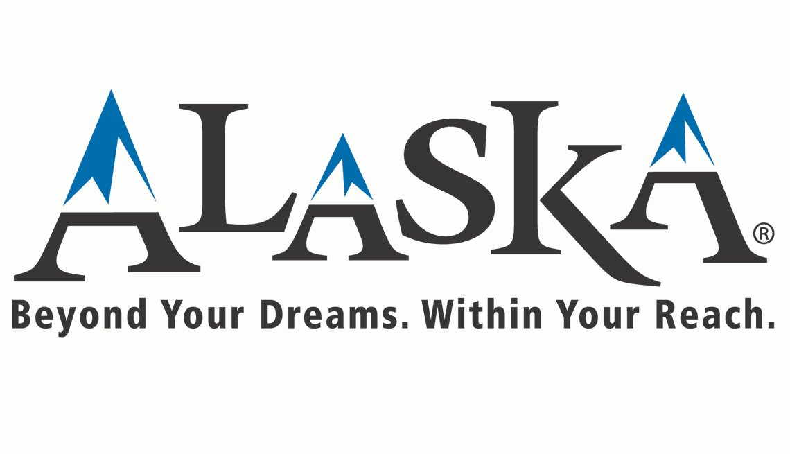 Logo: Alaska. Beyond Your Dreams. Within your reach.
