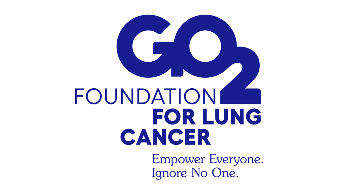 Go 2 foundation for lung cancer. Empower everyone. Ignore no one.