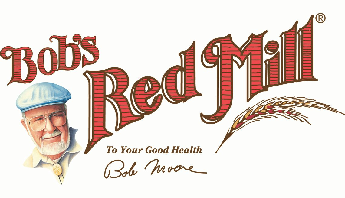 Bob's red mill. To your good health