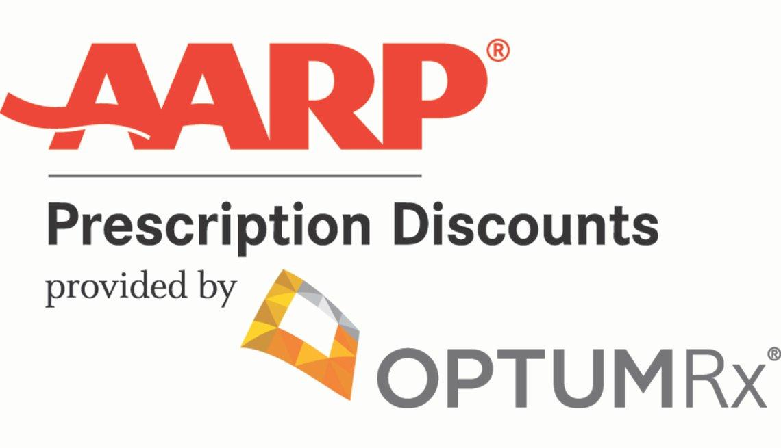 A A R P prescription discount provided by optum RX