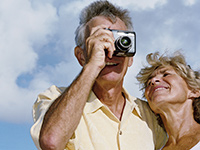 AARP Vacation Photo Memory Contest-Man with camera