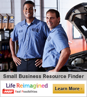 Auto mechanics in repair shop. Small Business Resource Center