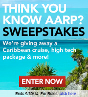 Think You Know AARP Caribbean Cruise Sweepstakes