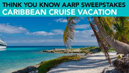 Think You Know AARP Sweepstakes