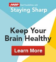 AARP Staying Sharp: Keep Your Brain Healthy