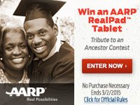 Win an ARRP Real Pad Tablet - Tribute to an Ancestor Contest