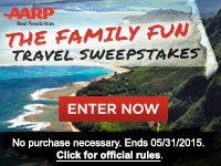 The Family Fun Travel Sweepstakes
