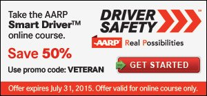 Driver Safety - Veterans Save 50% in July