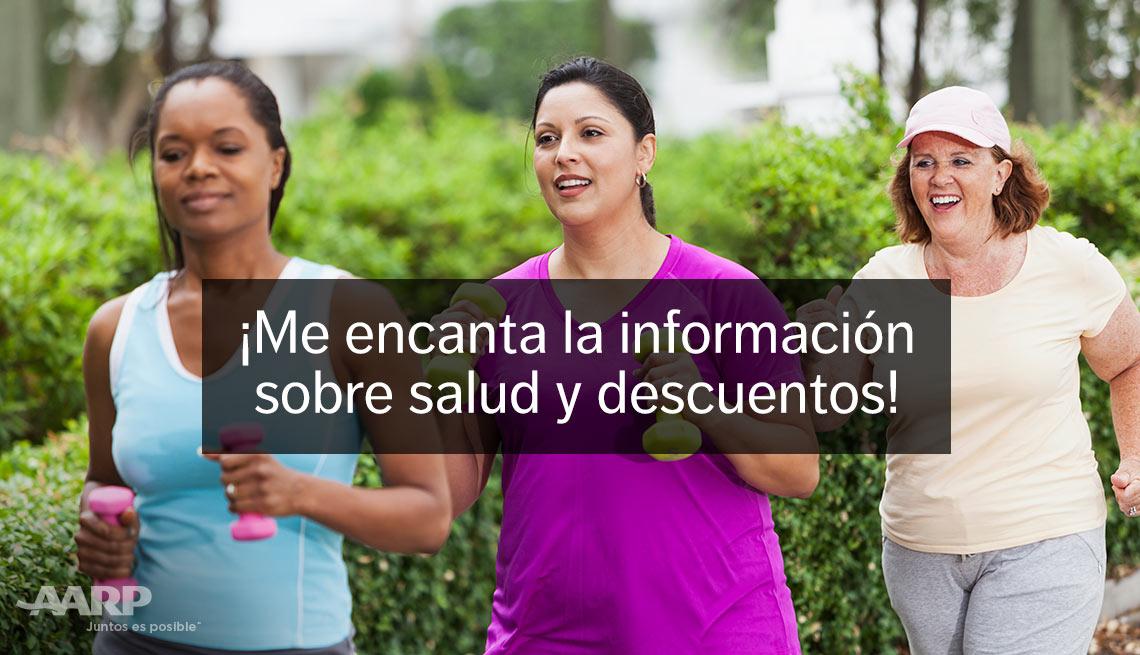 Mujeres haciendo ejercicios