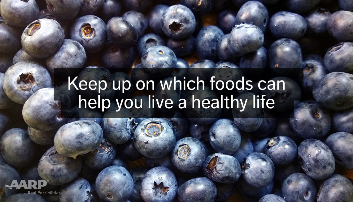 item 10 of Gallery image - Closeup of blueberries. Keep up on which foods can help you live a healthy life.