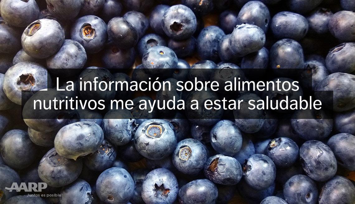 item 13 of Gallery image - La información sobre alimentos nutritivos me ayuda a estar saludable